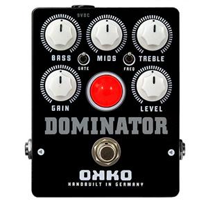 OKKO オッコー / DOMINATOR MKII BLACK ドミネーターマークツーブラック【ハード・ディストーション】