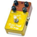 BearFoot Guitar Effects ベアフットギターエフェクツ / Model G【オーバードライブ】【ブースター】