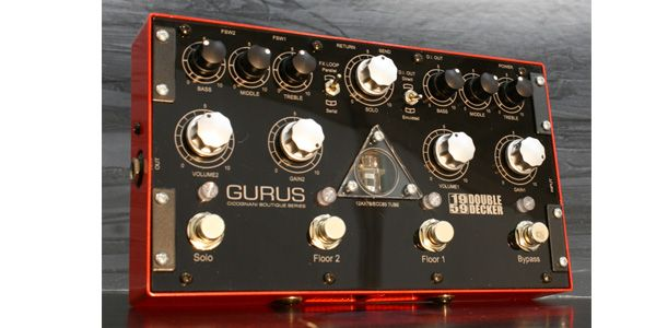 Gurus Amp / 1959 Double Decker【プリアンプ】【オーバードライブペダル】