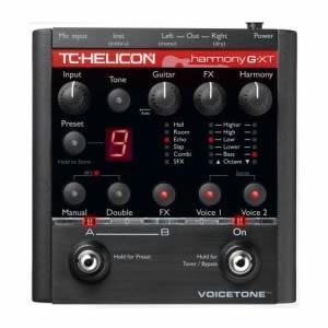 TC-Helicon ティーシーヘリコン / VoiceTone Harmony-G XT【ボーカル用エフェクター】