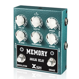 Xvive Effects Pedals エックスバイブ / XV-W3 MEMORY ANALOG DELAY【ディレイ】