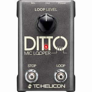 TC-Helicon ティーシーヘリコン / DITTO MIC LOOPER 【ルーパー】