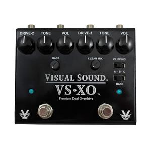 Visual Sound ビジュアルサウンド / VS-XO Premium Dual Overdrive【オーバードライブ】