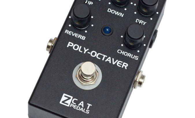 ZCAT Pedals ジーキャットペダル / Poly-Octaver 2【オクターバー・リバーブ・コーラス】