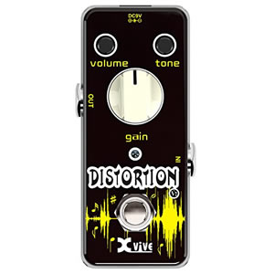 Xvive Effects Pedals / V2 DISTORTION【ディストーション】