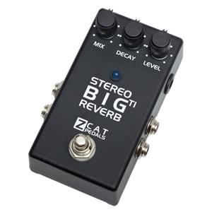 ZCAT Pedals ジーキャットペダル / Big Reverb TI【リバーブ】