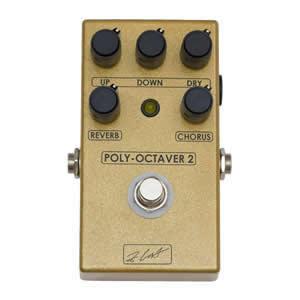 ZCAT Pedals ジーキャットペダル / Poly-Octaver【オクターバー・リバーブ・コーラス】