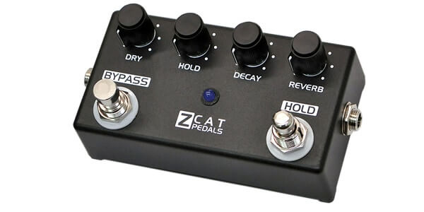 ZCAT Pedals ジーキャットペダル / HOLD-REVERB【リバーブ】