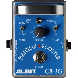 ALBIT アルビット / CB-1G PURE CLEAN BOOSTER【ブースター】