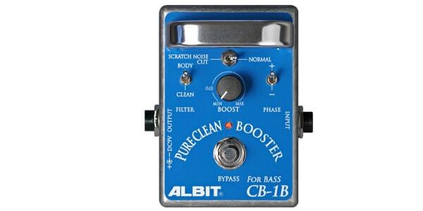 ALBIT アルビット / CB-1B PURE CLEAN BOOSTER FOR BASS【ベース用ブースター】