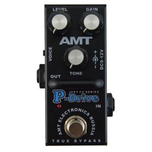 AMT Electronics エーエムティー / P-Drive mini【ディストーション】【オーバードライブ】