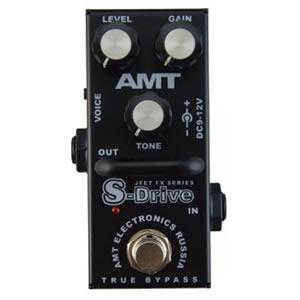 AMT Electronics エーエムティー / S-Drive mini【ディストーション】【オーバードライブ】