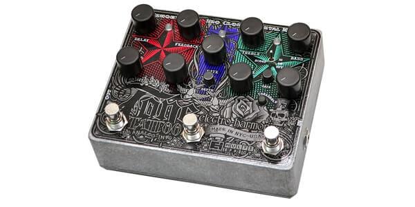 Electro Harmonix エレクトロハーモニクス / Tone Tattoo analog multi-effects pedal【マルチエフェクター】