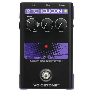 TC-Helicon ティーシーヘリコン / VoiceTone X1 Megaphone & Distortion