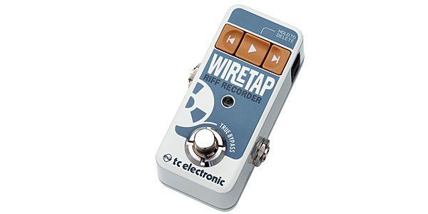 tc electronic ティーシーエレクトロニック / WireTap Riff Recorder【コンパクト・リフ・レコーダー】