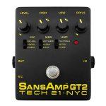 TECH21 テック21 / SANSAMP GT2【アンプ シミュレーター/プリアンプ】