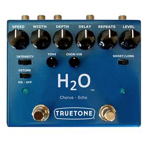 Visual Sound ビジュアルサウンド / H2O V3【ハイブリッド エコー + フルアナログ ステレオ コーラス】