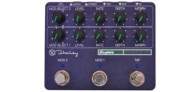 Keeley Electronics キーリー / Super Mod Workstation【モジュレーション系マルチ】