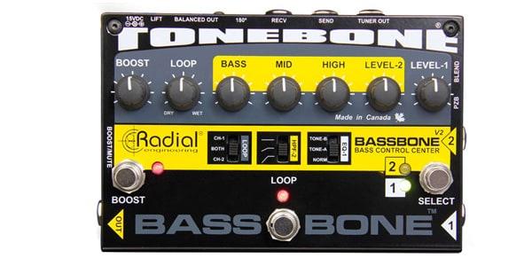 Radial ラディアル / Bassbone V2【ベース用プリアンプ/DIボックス】