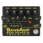 TECH21 テック21 / SANSAMP BASS DRIVER DI V2【ベース用プリアンプ】【ダイレクトボックス】