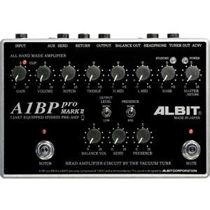 ALBIT アルビット / A1BP pro MARK II【ベース用プリアンプ】