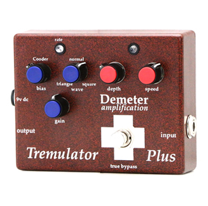 Demeter ディメーター / Tremulator Plus Tremolo Pedal【トレモロ】