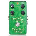 Bearfoot Guitar Effects ベアフットギターエフェクツ / Emerald Green Overdrive【オーバードライブ】