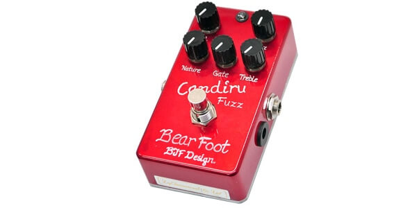 Bearfoot Guitar Effects ベアフットギターエフェクツ / Candiru Fuzz【ファズ】