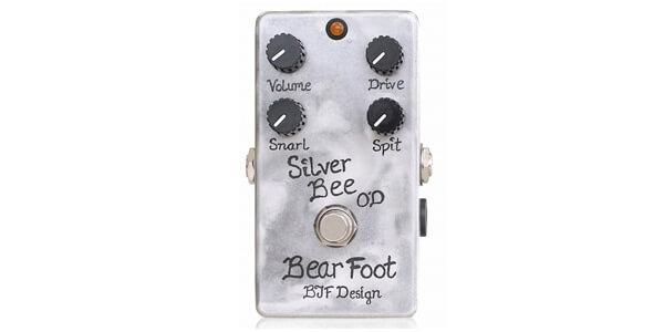 Bearfoot Guitar Effects ベアフットギターエフェクツ / Silver Bee Overdrive【オーバードライブ】