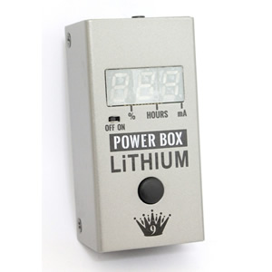 Big Joe Stomp Box Company ビッグジョー・ストンプボックスカンパニー / PB-107 Power Box Lithium【充電式パワーサプライ】