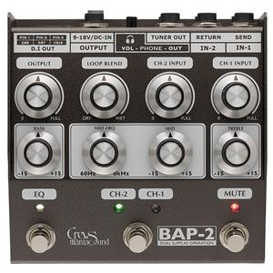 Crews Maniac Sound クルーズマニアックサウンド / BAP-2 Bass Foot Preamp【プリアンプ】