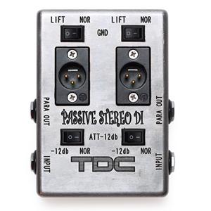 TDC-YOU / PASSIVE STEREO DI【ダイレクトボックス】