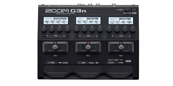 ZOOM ズーム / G3n Multi-Effects Processor【ギター用マルチエフェクター】