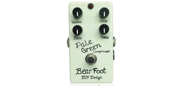 Bearfoot Guitar Effects ベアフットギターエフェクツ / Pale Green Compressor 4K【コンプレッサー】
