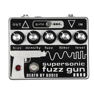 DEATH BY AUDIO デスバイオーディオ / SUPER SONIC FUZZ GUN【ファズ】