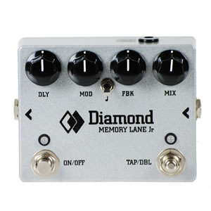 Diamond Guitar Pedals ダイヤモンドギターペダルズ / Memory Lane Jr. Digital Delay with Tap Tempo【ディレイ】