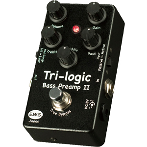 E.W.S. イーダブリューエス / Tri-logic Bass Preamp 2【ベースプリアンプ】