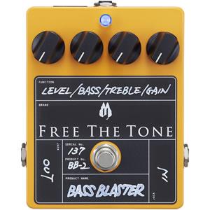 Free The Tone フリーザトーン / BASS BLASTER BB-2【ベース用オーバードライブ】