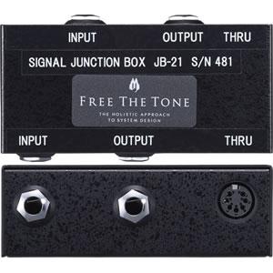 Free The Tone フリーザトーン / JB-21 SIGNAL JUNCTION BOX【シグナル・ジャンクション・ボックス】