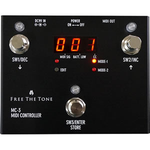 Free the Tone フリーザトーン / MC-3 MIDI CONTROLLER【MIDIコントローラー】