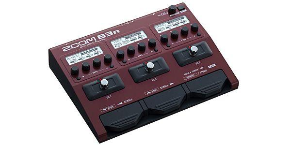 ZOOM ズーム / B3n Multi-Effects Processor for Bass【ベース用マルチエフェクター】