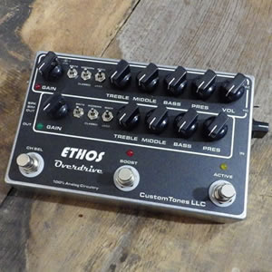 Custom Tones カスタムトーンズ / Ethos Overdrive with TLE Classic switch【オーバードライブ】