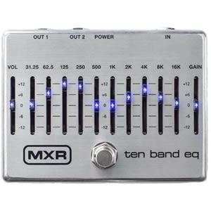 MXR エムエックスアール / M108S TEN BAND EQ【10バンドグラフィックイコライザー】