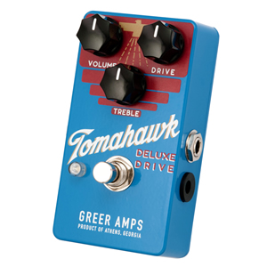 Greer Amps グリアー アンプス / Tomahawk DELUXE DRIVE【オーバードライブ】