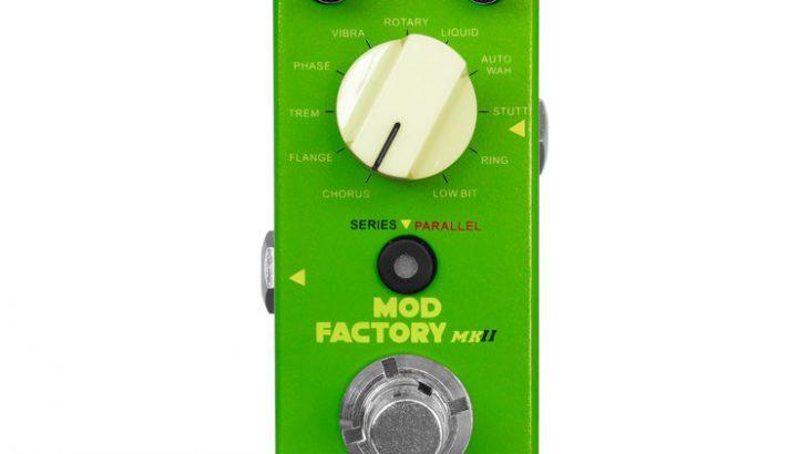 Mooer ムーアー / Mod Factory MKII モッドファクトリー【モジュレーション系マルチエフェクター】