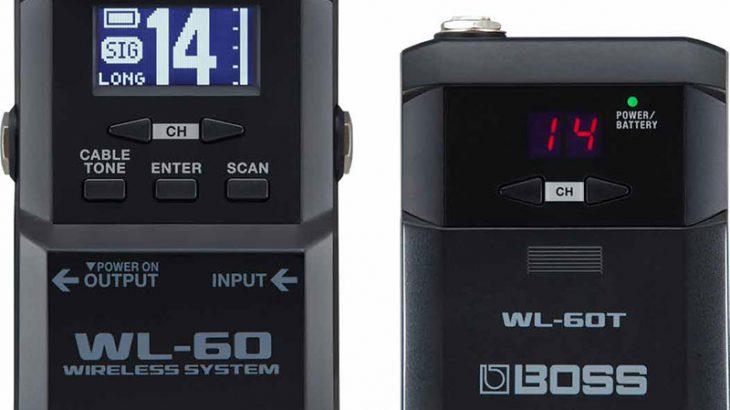 BOSS ボス / WL-60 Wireless System【ワイヤレスシステム】