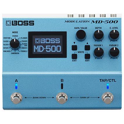BOSS ボス / MD-500 Modulation【モジュレーション系マルチエフェクター】【BOSS 500シリーズ】