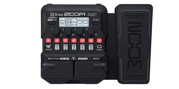 ZOOM ズーム / G1X FOUR 【ギター用マルチエフェクター】