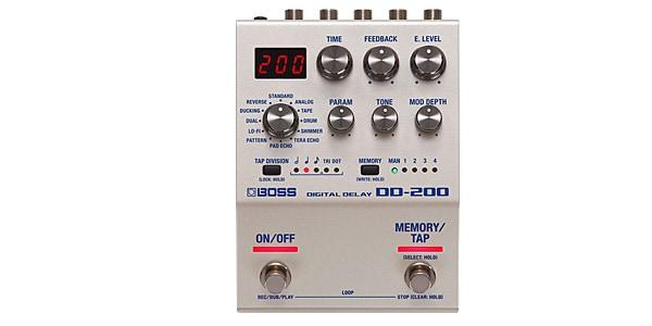 BOSS ボス / DD-200 DIGITAL DELAY【デジタルディレイ】【BOSS 200シリーズ】