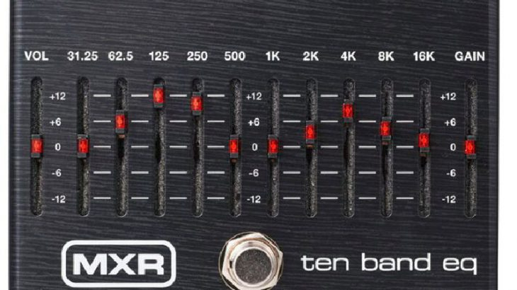 MXR エムエックスアール / M108SE 10-Band Graphic-EQ LIMITED BLK【グラフィックイコライザー】